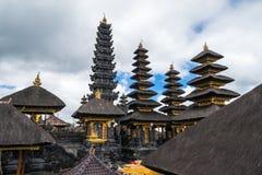 Pura Besakih在巴厘岛 库存图片