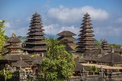 Pura Besakih寺庙,巴厘岛 免版税库存图片