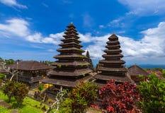 Pura Besakih寺庙-巴厘岛印度尼西亚 图库摄影