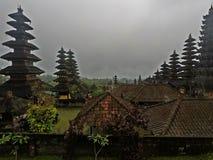 Pura Besakih, Bali fotos de archivo