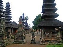 Pura Besakih in Bali Stockfotografie