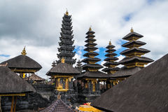 Pura Besakih em Bali Imagens de Stock