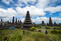 Pura Besakih en Bali Imágenes de archivo libres de regalías
