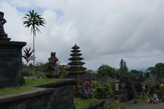 Pura Besakih temple, Bali, Indonesia Royalty Free Stock Photography