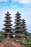 Pura Besakih, Hinduska świątynia w Bali, Indonezja Zdjęcie Royalty Free