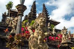 Pura Besakih tempel, Bali arkivbilder