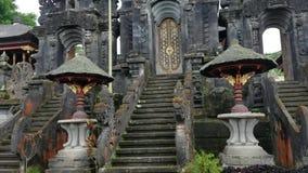 Pura Besakih-tempel complex in oostelijk Bali, Indonesië stock video