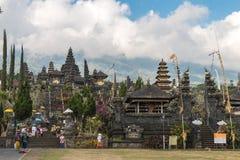 Pura besakih temple. Bali indonesia Royalty Free Stock Photo