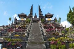 Pura besakih temple. Bali indonesia Royalty Free Stock Images