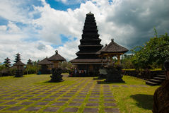 The Pura Besakih temple complex Royalty Free Stock Images