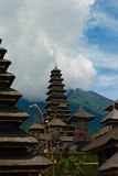 The Pura Besakih temple complex Royalty Free Stock Photography