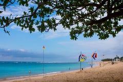 Pura Geger海滩,巴厘岛 库存图片