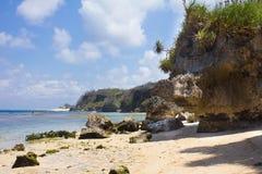 Pura Geger strand, Bali Royaltyfria Foton