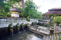 Pura Goa Gajah temple at Bali island Stock Images