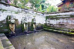 Pura Goa Gajah temple at Bali island Royalty Free Stock Images