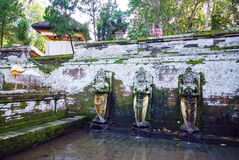Pura Goa Gajah temple at Bali island Royalty Free Stock Image