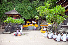 Pura Goa Lawah, Bali, Indonesia Royalty Free Stock Photography