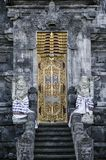 Pura Goa Lawah hindu temple exterior detail in bali indonesia Royalty Free Stock Photography