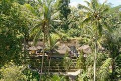 Pura Gunung Gawi寺庙在巴厘岛 库存图片