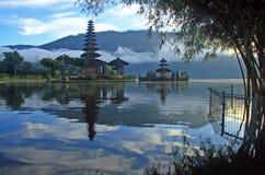 Pura hindú en Bedugul Bali foto de archivo libre de regalías