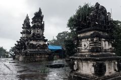 Pura Lempuyang tempel royaltyfri bild