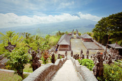 Pura Lempuyang-tempel. Bali Royalty-vrije Stock Afbeelding