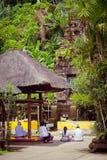 Pura Luhur Batukau Temple em Bali Fotos de Stock Royalty Free