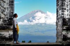 Pura Luhur Lempuyang寺庙巴厘岛印度尼西亚 库存图片