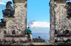 Pura Luhur Lempuyang-tempel Bali Indonesië stock foto
