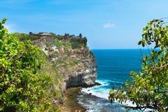 Pura Luhur Uluwatu, Бали, Индонезия Стоковая Фотография RF