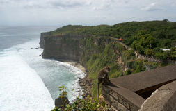 Pura Luhur Uluwatu Temple Bali Stock Photography
