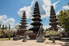 Pura Meru Hindu Temple - Mataram, Lombok Stock Photos