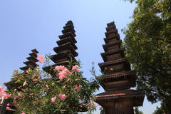 Pura Meru Temple in Mataram, Lombok island (Indonesia) Royalty Free Stock Images