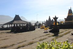 Pura Poten, θαυμάσιος προορισμός ταξιδιού ναών Στοκ φωτογραφία με δικαίωμα ελεύθερης χρήσης
