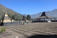 Pura Poten, destination merveilleuse de voyage de temple Photos libres de droits