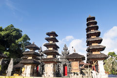Pura Puncak Mundi, the most important Hindu temple on the top of Stock Photography