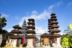 Pura Puncak Mundi, the most important Hindu temple on the top of Royalty Free Stock Photos
