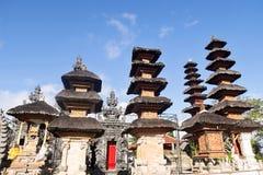 Pura Puncak Mundi, the most important Hindu temple on the top of Stock Photos