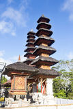 Pura Puncak Mundi, the most important Hindu temple on the top of Royalty Free Stock Photography