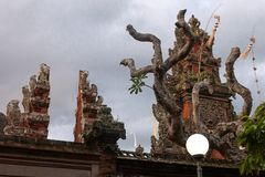 Pura Rambut Siwi świątynia Zdjęcia Stock