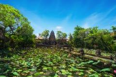 Pura Saraswati Hindu temple in Ubud, Bali, Indonesia Royalty Free Stock Photography