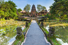 Pura Saraswati Temple, Ubud,Bali Royalty Free Stock Images