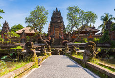 Pura Saraswati Temple, Ubud,Bali Stock Photos