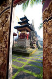 Pura Saraswati temple, Ubud. Bali, Indonesia Royalty Free Stock Photo
