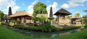 Pura Taman Ayun in Bali. Pura Taman Ayun is a compound of Balinese temple and garden with water features located in Mengwi subdistrict in Badung Regency, Bali Royalty Free Stock Photography