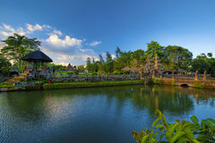 Pura Taman Ayun Bali temple. Build in traditional architecture style royalty free stock images