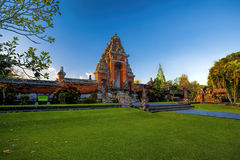 Pura Taman Ayun Bali temple Royalty Free Stock Image