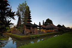 Pura Taman Ayun Bali temple. Build in traditional architecture style stock photos