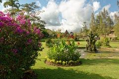 Pura Taman Ayun en Bali Fotografía de archivo