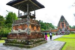 Pura Taman Ayun, Hinduska świątynia w Bali, Indonezja zdjęcie stock